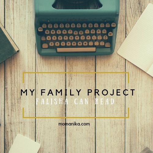 Projek Keluarga Anakku belajar membaca