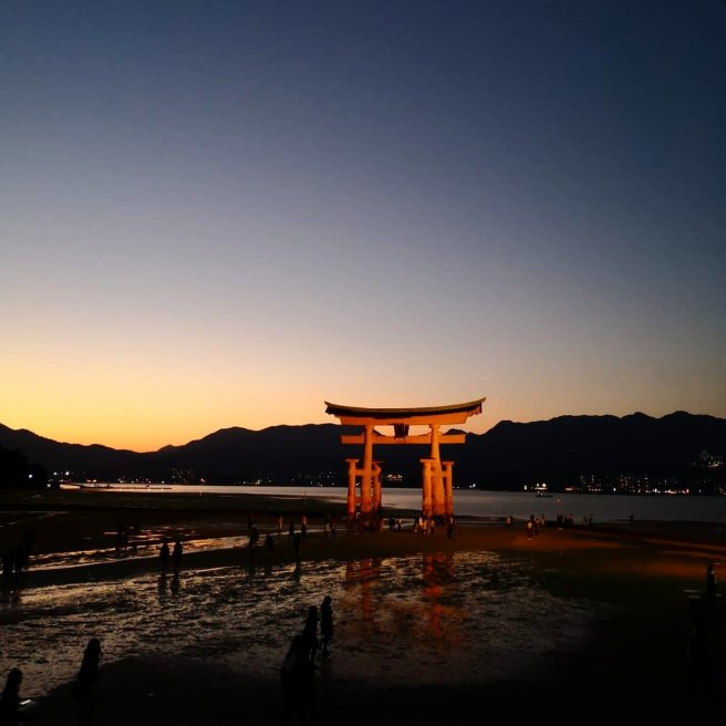 Itsukushima shrine miyajima